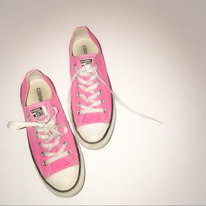 Pink Converse Sneakers